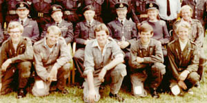 621 VGS staff photo from 1976 at Weston